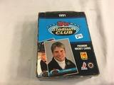 Box has Been Open- But, each Package Still Sealed - 1991 Topps Stadium Club Premium NHL Hockey Cards