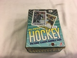 Box has Been Open- But, each Package Still Sealed - 1990 Topps NHL Hockey Picture Cards Bubble Gum