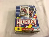 Box has Been Open- But, each Package Still Sealed -1991 Topps NHL Hockey Picture Trading Sport Cards