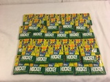 Lots of Collector Sports Trading Cards 1990 Topps NHL Hockey Cards - Sealed in Package