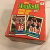 Box has Been Opened- But, each Package Still Sealed - Vintage  Topps Football Picture Sport Cards