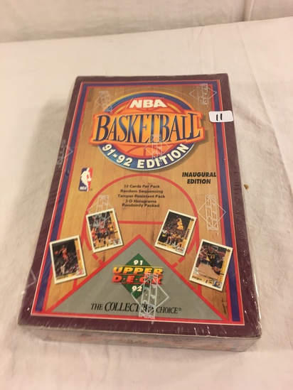 Collector Loose in Box But, Sealed in Package -1991-92 Upper Deck NBA Basketball Cards