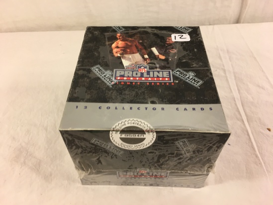 Collector Loose in Box But, Sealed in Package -1991 NFL Pro Line Potraits Signert Series Cards