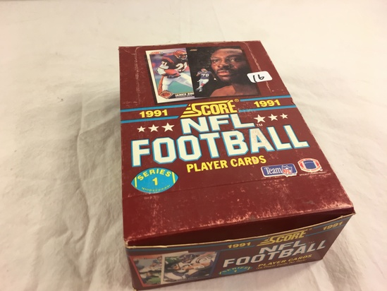 Collector Loose in Box But, Sealed in Package -1991 Score NFL Football Palyer Sport Cards S- 1