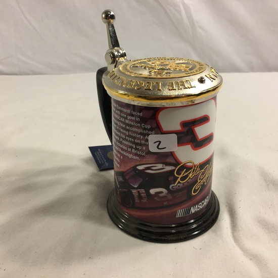 Collector Nascar 1994 Earnhardt the Legend Commemorative Tankard Stein Ceramic 4.1/2""