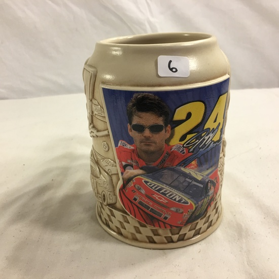 "Collector Nascar Jeff Gordon #24 Stein Ceramic  Size: 5.7/8""tall"