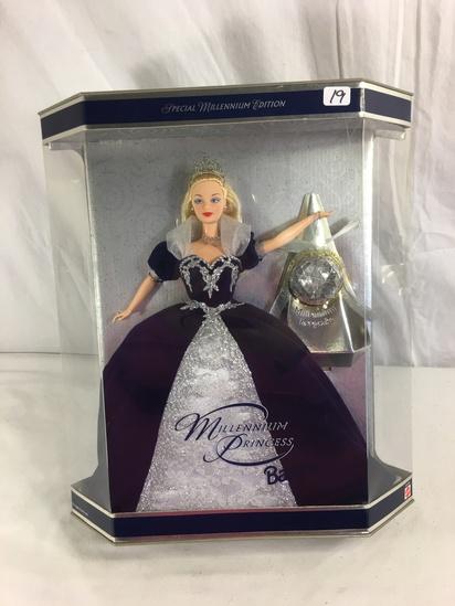 "Collector NIB Barbie Mattel Special Edition Millennium Princess Barbie Mattel Doll 14""Tall Box"