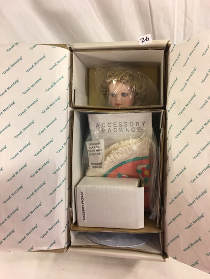 "Collector Loose in Box Good Morning By Bessie Pease Cutmann Heritage Dolls 13""Tall Box"