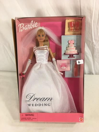 "Collector NIB Barbie Mattel Dream Wedding Mattel Doll 14""tall Box"
