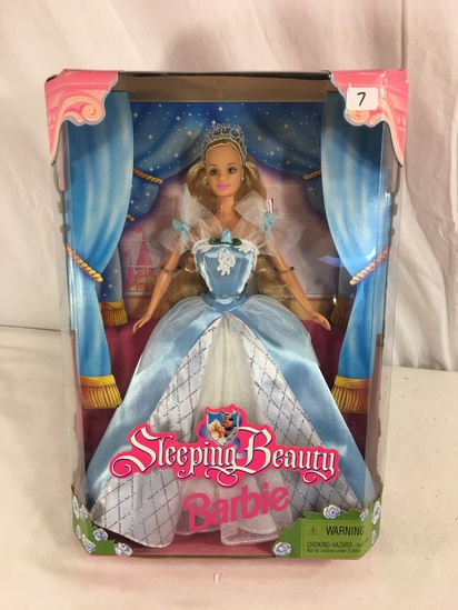 "Collector Mattel Doll Sleeping Beauty Barbie Doll 14""tall Box"