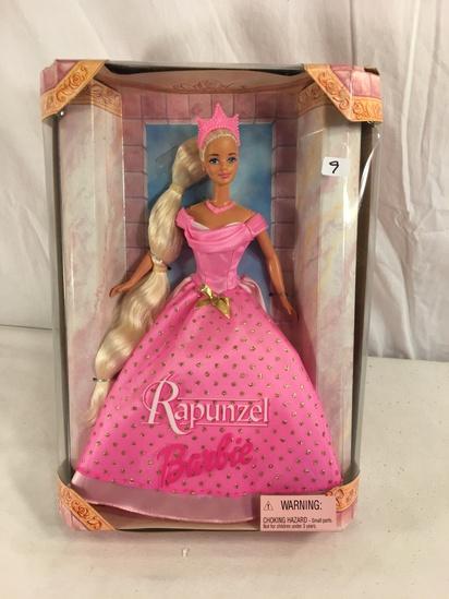 "Collector NIB Barbie Mattel Rapunzel as Barbie Doll 14""Tall Box Size"