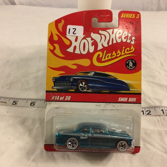 NIP Collector Hot wheels Classics 1/64 Scale DieCast  Metal & Plastic Parts Shoe Box #14 Of 30 Car