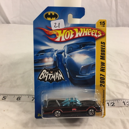 NIP Collector Hot wheels 1/64 Scale DieCast Metal & Plastic Parts  Batman 1966 TV Series Batmobile