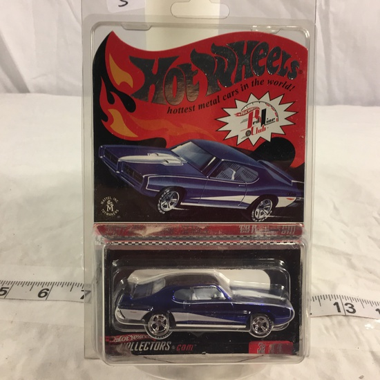 NIP Collector Hot wheels  1/64 Scale Red Line Club DieCast Metal & Plastic '69 Pontiac GTO 2007 Seri