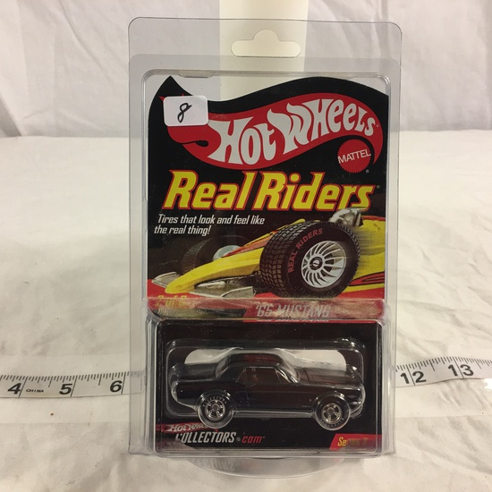 NIP Collector Hot wheels  1/64 Scale Red Line Club DieCast Metal & Plastic '65 Mustang #2 Of 6 Car