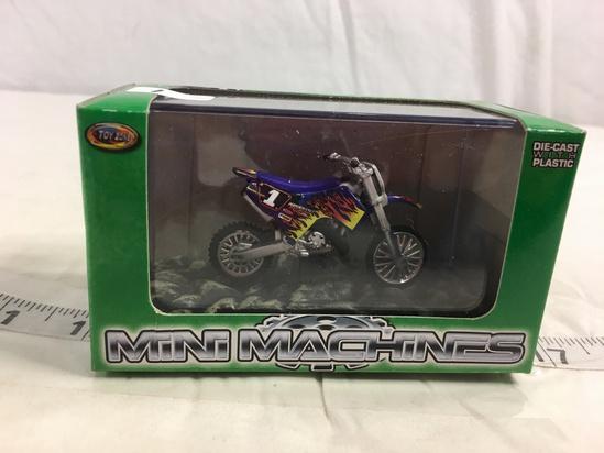 NIP Collector Toy Zone Mini Machines Die cast With Plastic Freeride X250 #99600