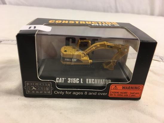 "NIB Collector Construction Mini's DieCast  Norcost Metal ""Cat' 315C Excavation"