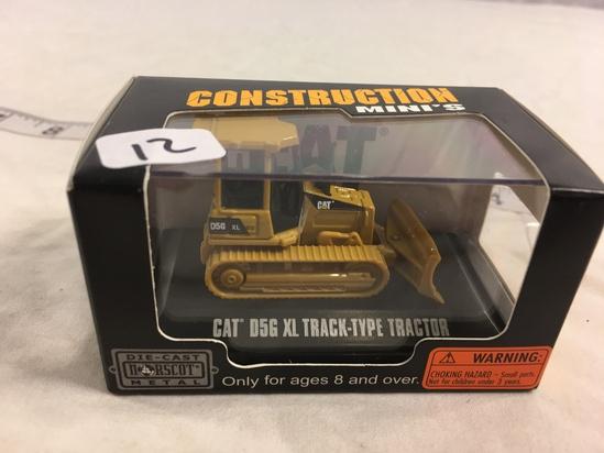 """NIB Collector Construction Mini's DieCast  Norcost Metal """"Cat' D5G XL Track-Type Tractors"""