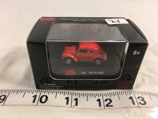 NIP Malibu International LTD. Model Collection Scale 1/87 Volkswagen 30 Red Color 1937
