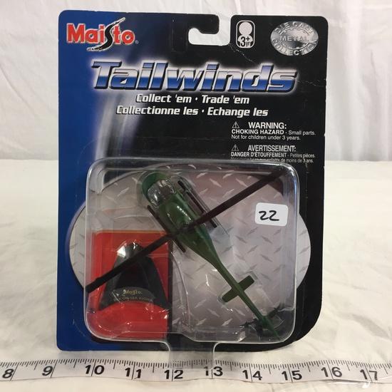 "NIP Collector Maisto Fresh Metal Tailwinds DieCast metal ""Bell PH-58A KIOWA"" Helicopter"