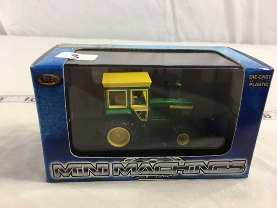 NIP Collector Toy Zone  Mini Machines DieCast With Plastic Field Pro Harvest