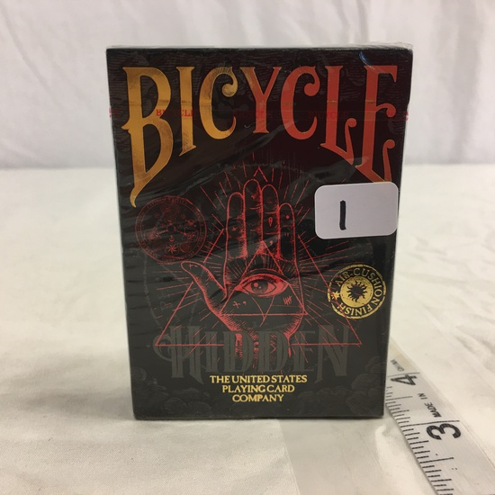 Collector new Sealed Bicycle Hidden Air- Cushion Finish Playing Card