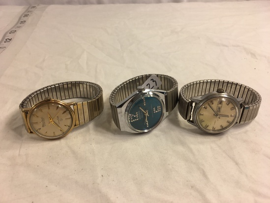 Lot of 3 Pieces Collector Loose Used Women's Watch - See Pictures