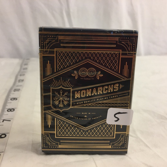 Collector New Sealed Monarch High Quality Playing Card