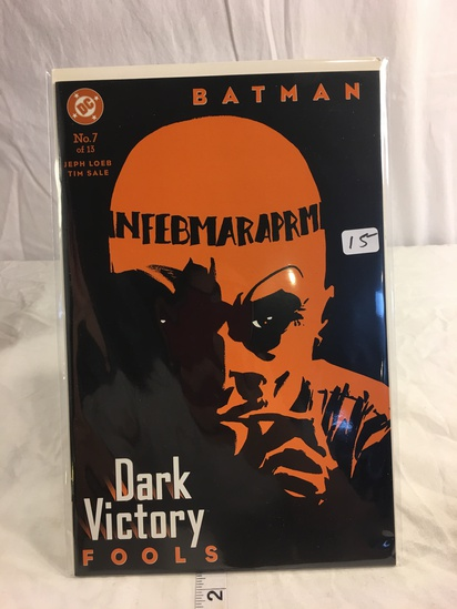 Collector DC, Comics Batman Dark Victory Comie Book #7 of 13