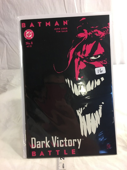 Collector DC, Comics Batman Dark Victory Comie Book #8 of 13