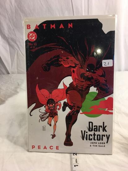 Collector DC, Comics Batman Dark Victory Comie Book #13 of 13