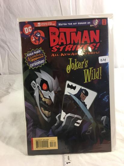 Collector DC, Comics The Batman Strikes All New Adventures Joker's Wild Comic Book #3