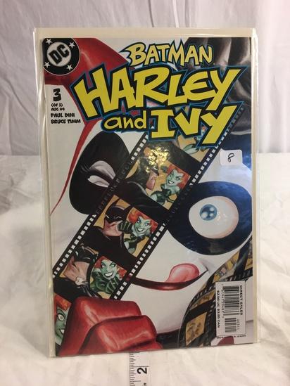 Collector DC, Comics Batman Harley and Ivy Comic Book  3 of 3