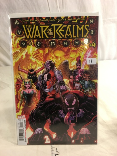 Collector Marvel Comics The War Of The Realms Comic Book #4