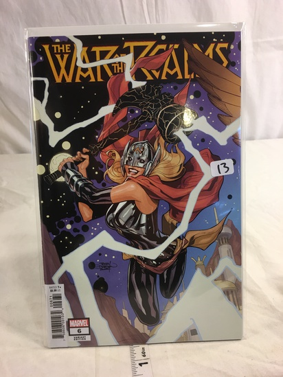 Collector Marvel Comics VARIANT EDITION The War Of The Realms Comic Book #6