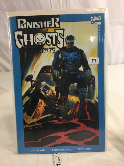 Collector Marvel Comics Punisher The Ghost Of Innocents Book 1 of 2
