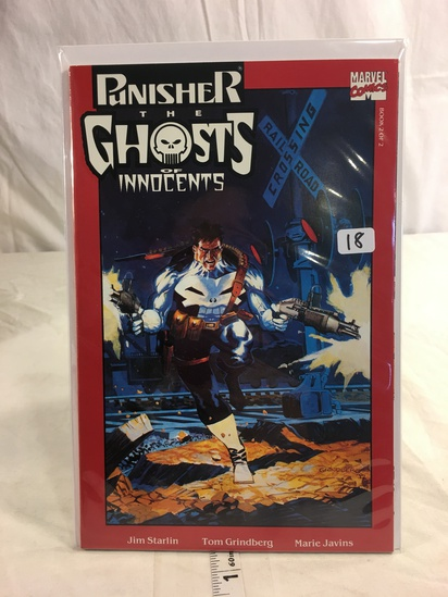 Collector Marvel Comics Punisher The Ghost Of Innocents Book 2 of 2