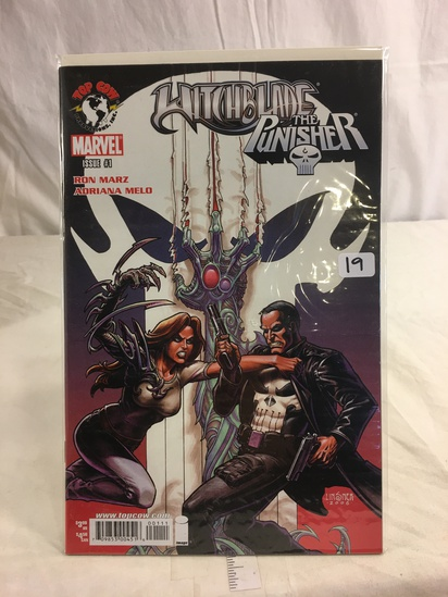 Collector Marvel Comics Witchbldae The Punisher Comic Book No.1