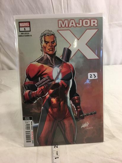 Collector Marvel Comics Major X 2nd Printing Comic Book #1