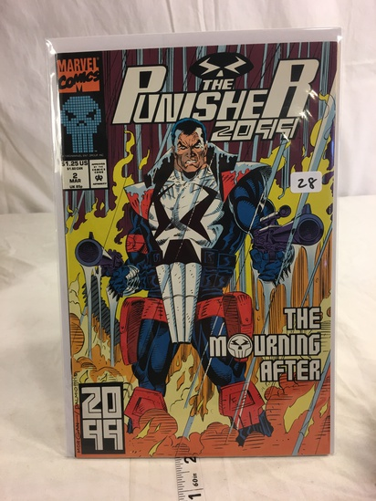 Collector Marvel Comics The Punishers 2099 Comic Book No.2