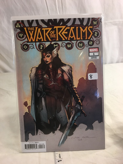 Collector Marvel Comics VARIANT EDITION The War Of The Realms Comic Book #1