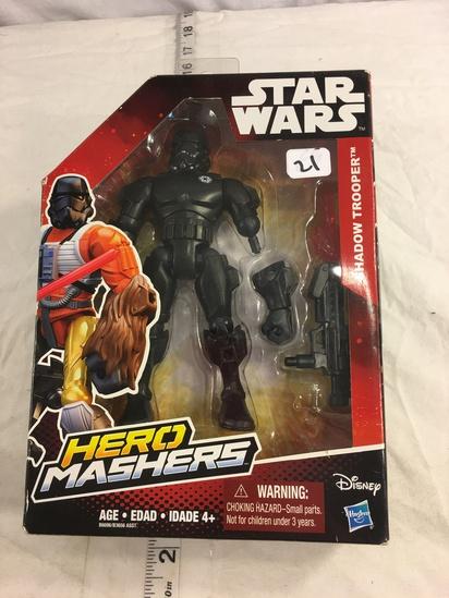 "NIP Collector Star Wars  Hero Mashers Hasbro Disney  Shadow Trooper Action Figure 7.5""tal"