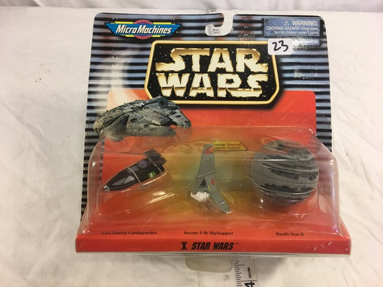NIP Collector Star Wars The Original MicroMachines Scale Miniatures X Star Wars