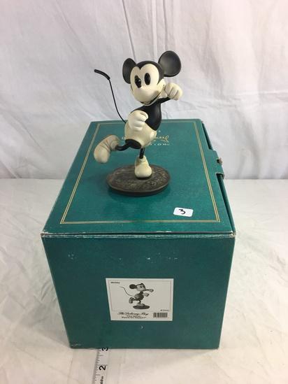 """Classics Walt Disney Mickey The Delivery Boy Hey Minnie Wanna Go Seppin' 11.5x8x8""""T"""
