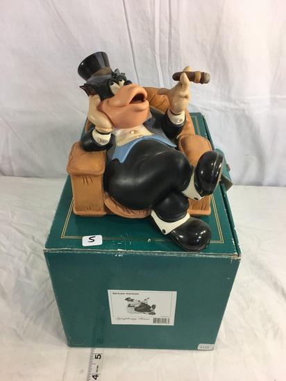"Collector Classics Walt Disney Sylvester Macaroni Symphony Hour Figurine 11.5x8x7.5"""