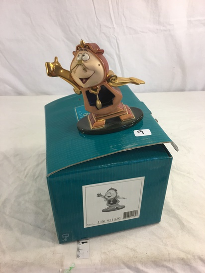 """Collector Classics Walt Disney Beauty and The Beast Just in Time Figurine 4""""Tall"""