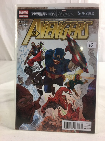 Collector Marvel Comics The Avengers Comic Book No.23