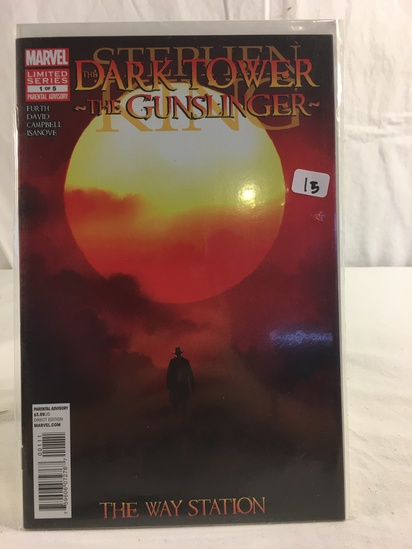 Collector Marvel Comics Stephen The Dark Tower The Gunsligher Comic Book No.1 of 5