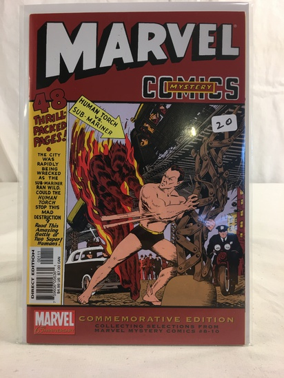 Collector Comics Marvel Comics Mystery Commemorative Edition Comic Book