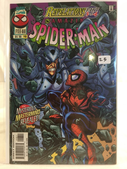Collector Marvel Comics Revelations Part 3 of 4 Amazing Spider-man Comic Book No.418